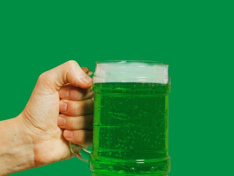 zielone piwo ;)