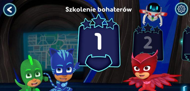 Pidżamersi: Akademia bohaterów aplikacja dla dzieci