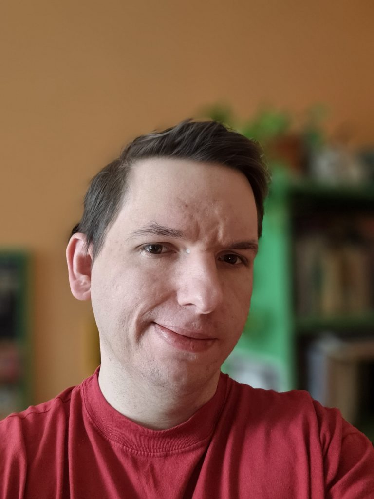Galaxy S21 selfie portret
