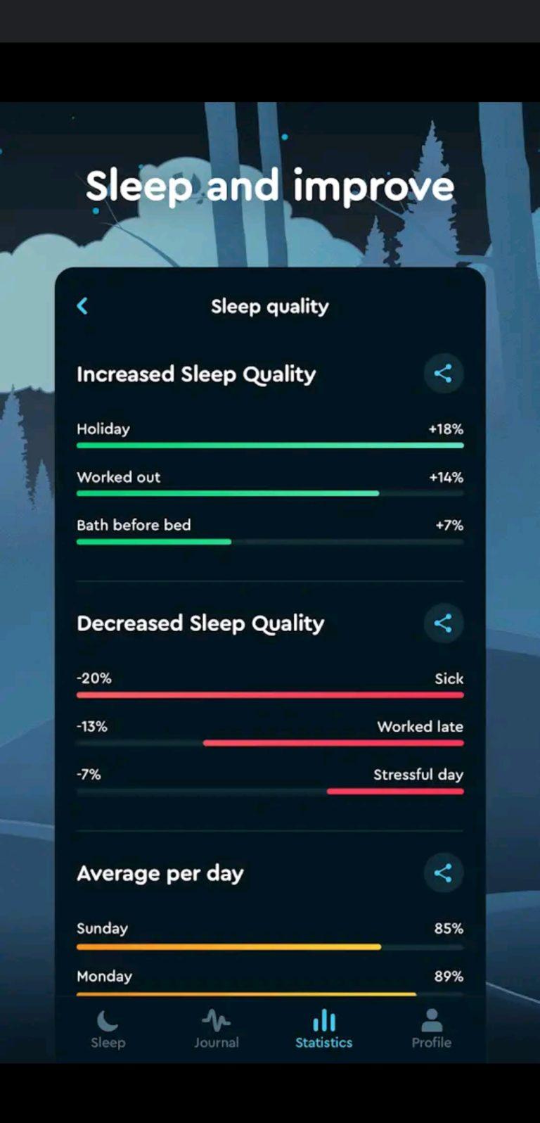 sleep cycle aplikacja do spania