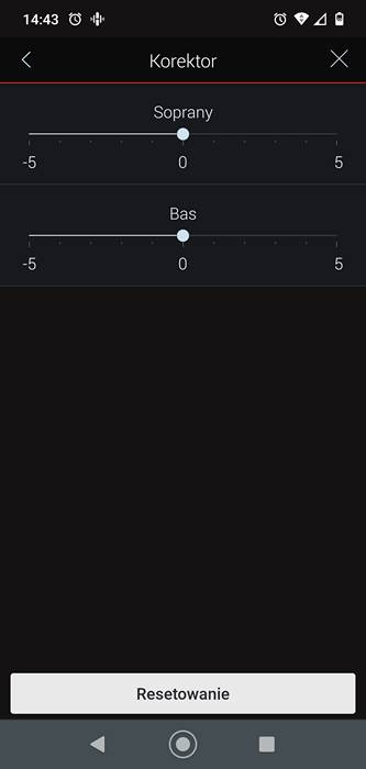 suwaki korekcyjne denona home sound bar 550