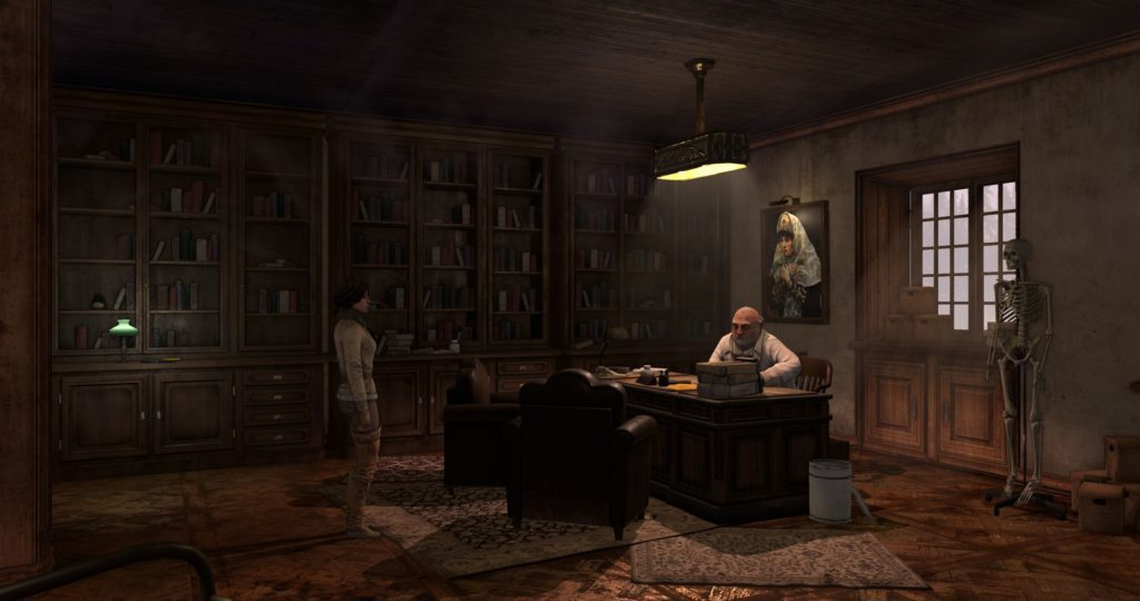 Zdjęcie z gry Syberia 3