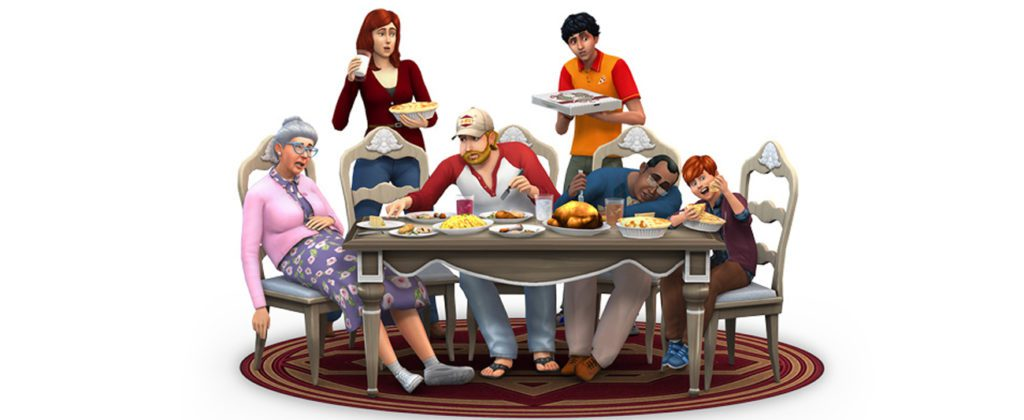 The Sims 4 screen z gry