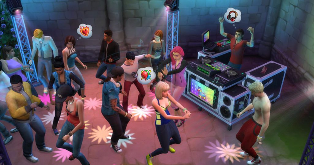 The Sims 4 impreza