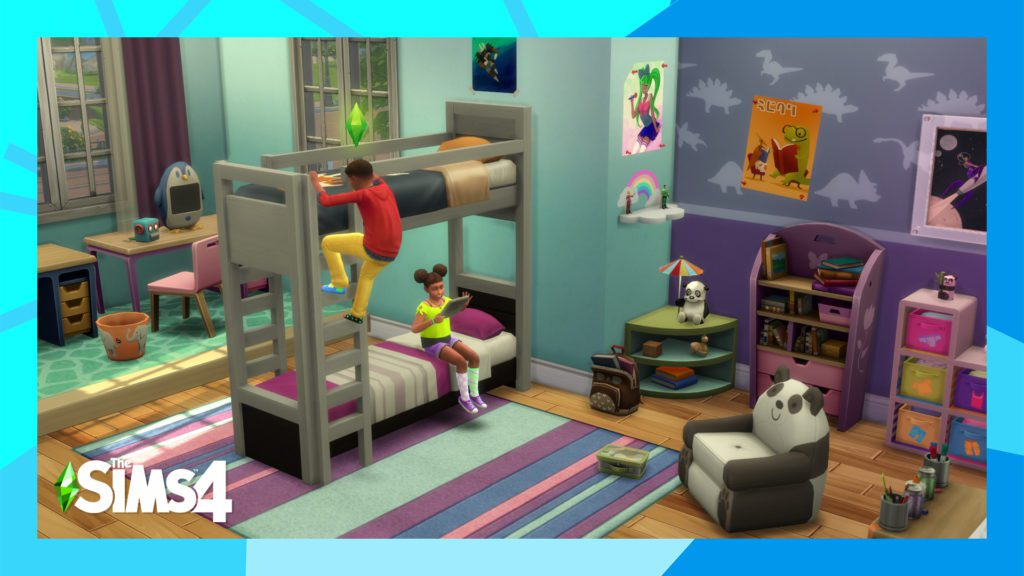 The Sims 4 łóżka piętrowe