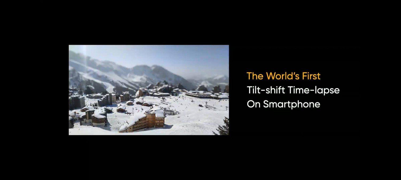 tilt shift time lapse w realme 8