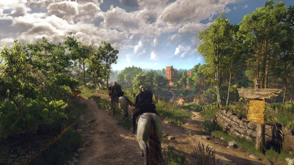 Wiedźmin 3: Dziki Gon Geralt na Płotce