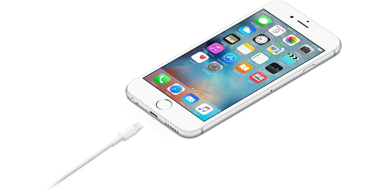 złącze lightninig w apple iphone