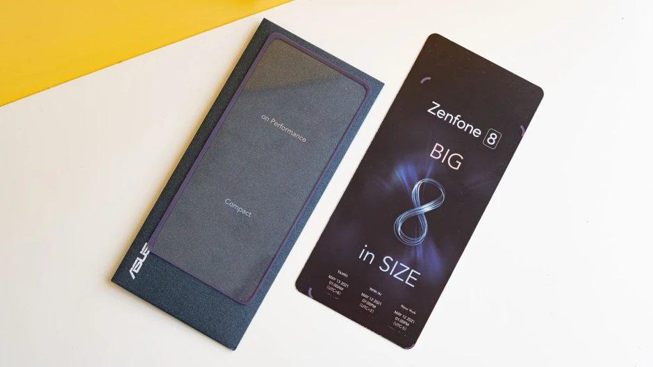 ASUS ZenFone 8 zaproszenie na premierę