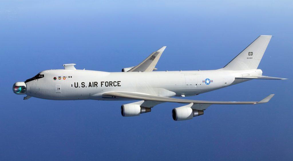Boeing YAL-1A Airborne Laser