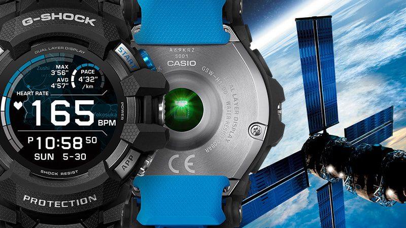 Casio GSW-H1000. Specyfikacja i tryby pracy