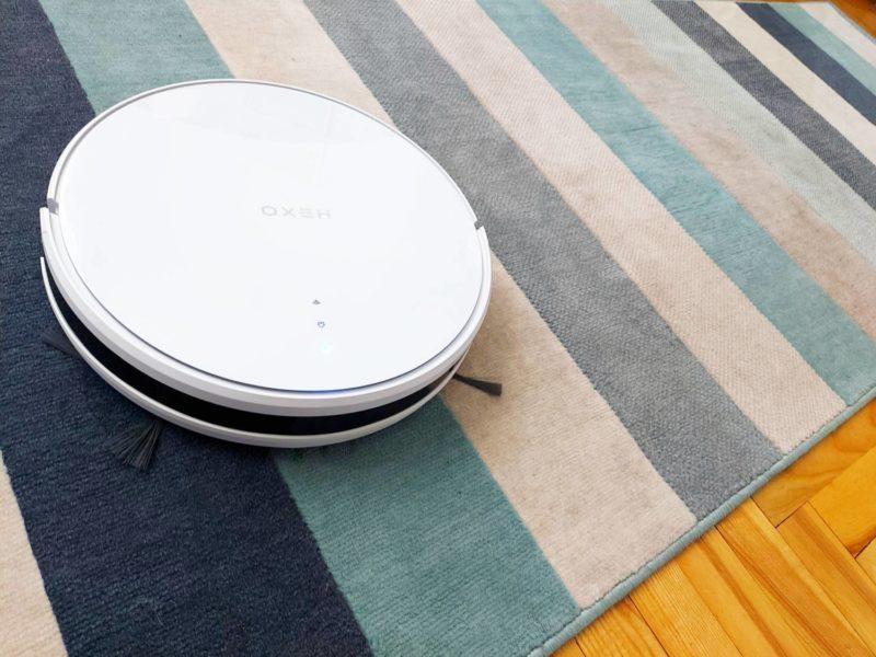 Najlepszy robot sprzątający poniżej 1000 zł? Recenzja HEXO Duo White
