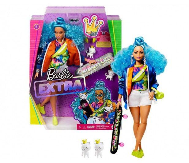 lalka barbie extra moda