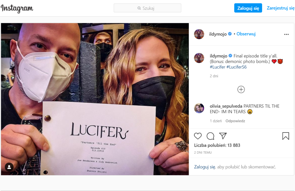 Lucyfer - instagram