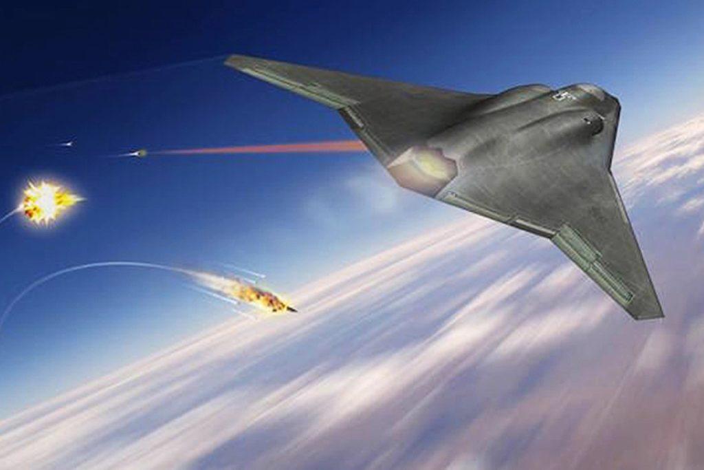 Norhtrop Grumman laser 6 generacja