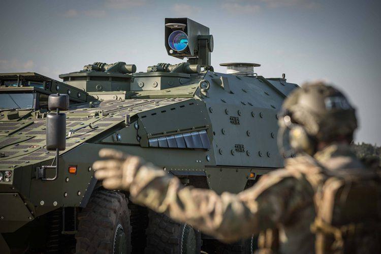 Rheinmetall laser