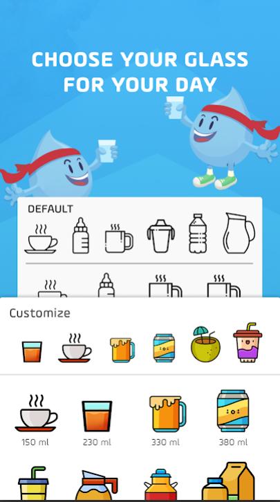 aplikacja Water tracker