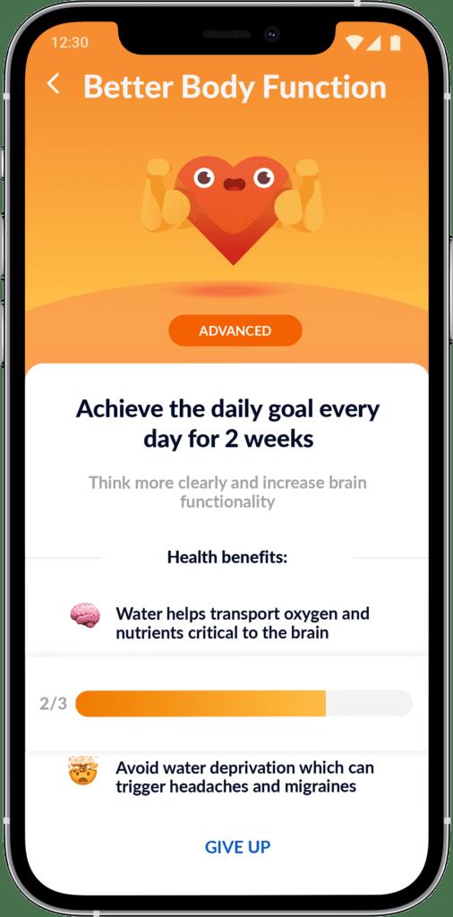 Waterful - aplikacja do picia wody