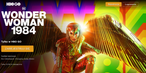"""Kwietniowe nowości w HBO GO. Premiera """"Wonder Woman 1984"""". Pojawią się też """"Przyjaciele"""", """"Fargo"""" i """"Opowieść podręcznej"""""""