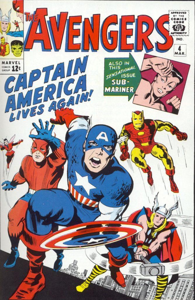 Avengers komiks Kapitan Ameryka dołącza