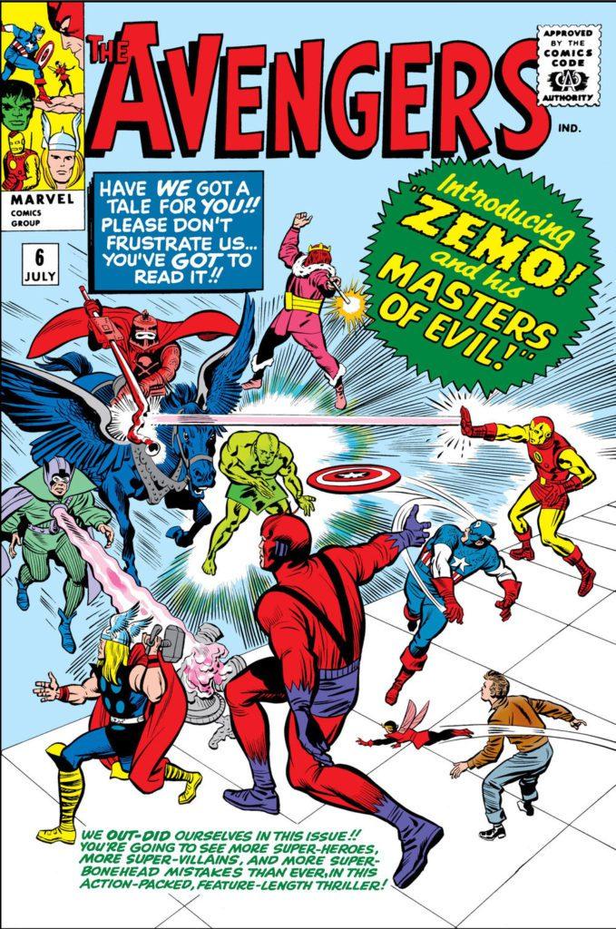 Avengers kontra Baron Zemo