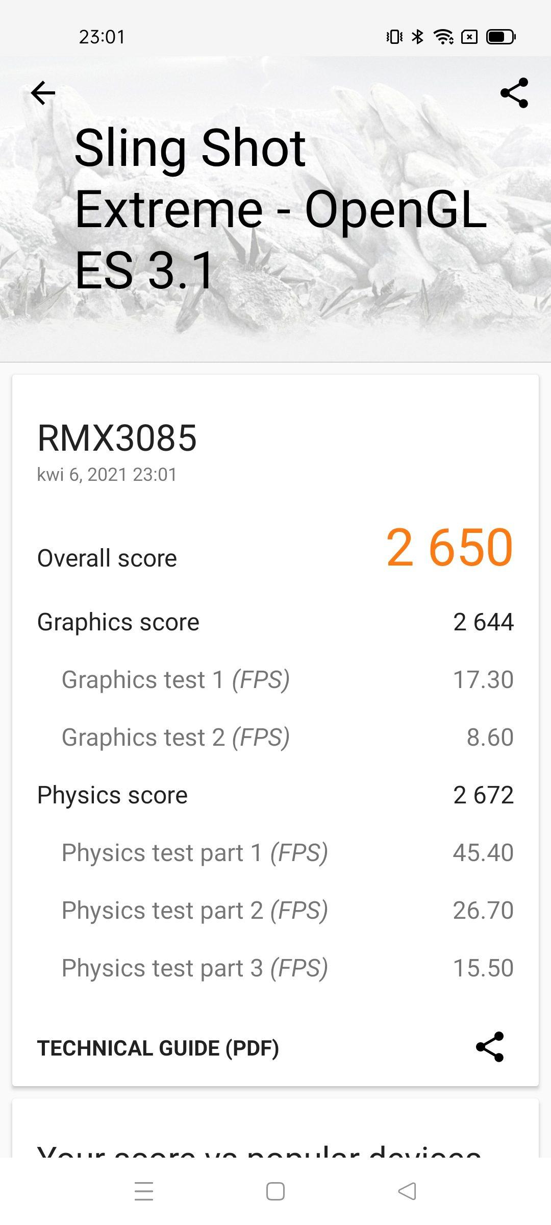 benchmarki realme 8