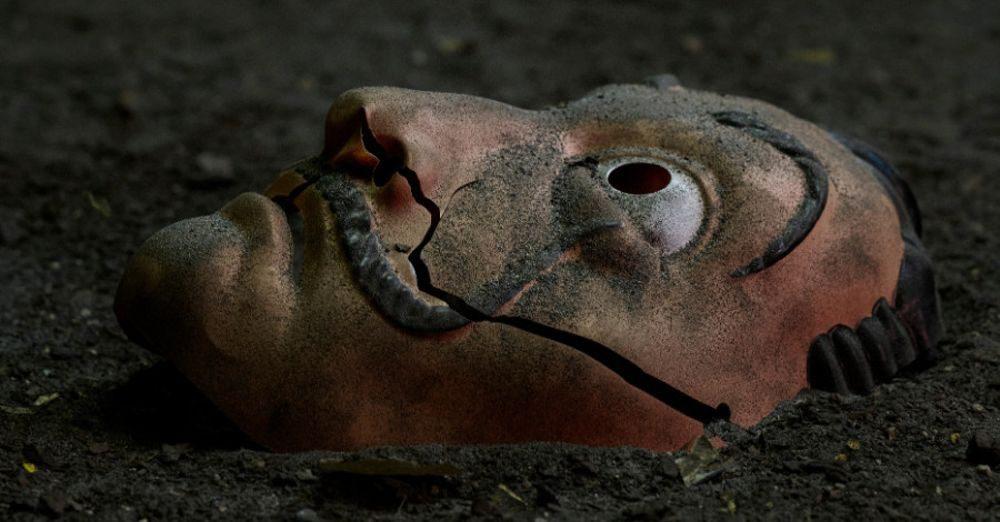 Dom z papieru maska Salvadora Dalego