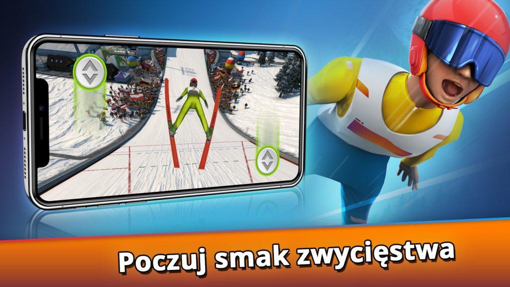 gra na telefon skoki narciarskie