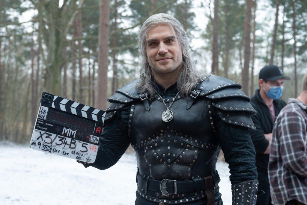 Wiedźmin sezon 2 - Henry Cavill jako Geralt