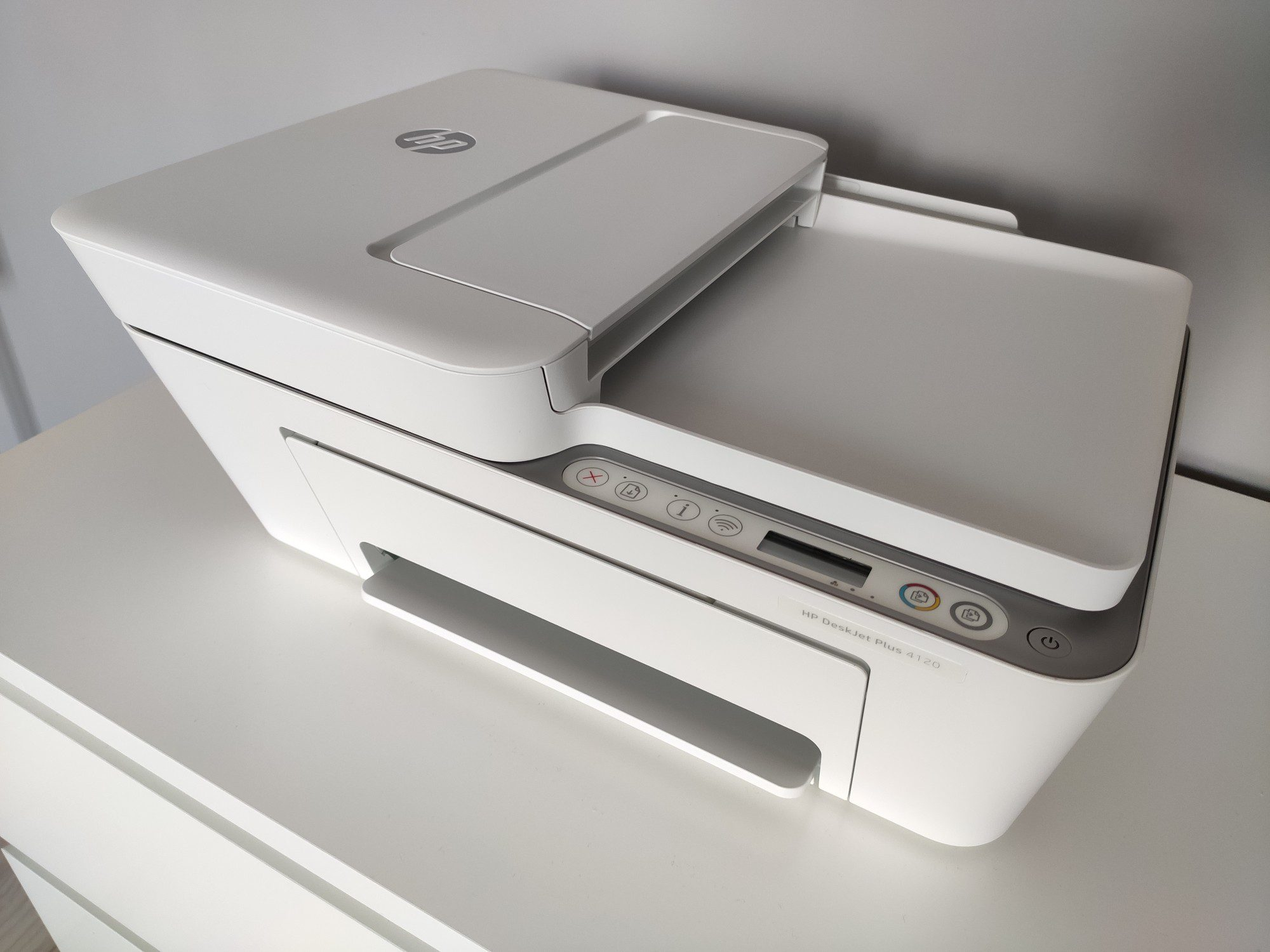 hp deskjet 4120 plus z góry