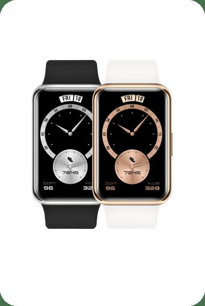 Smartwatche Huawei Watch Fit Elegant biały i czarny
