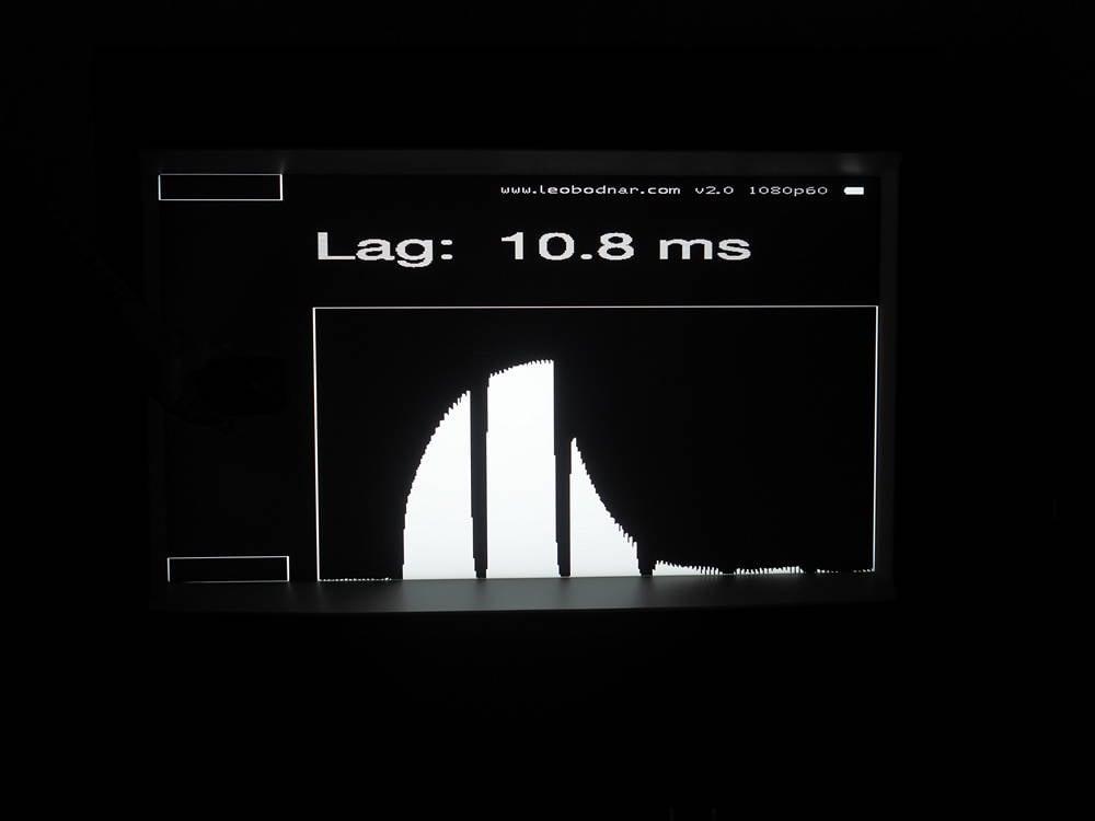 pomiar input lafa telewizora samsung the serif qe43ls01t