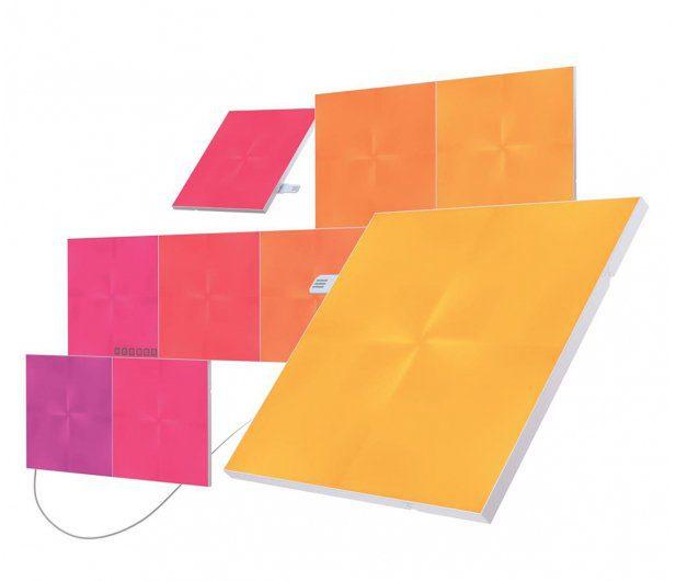 inteligentny dom przegląd ofert Nanoleaf Canvas Starter Kit