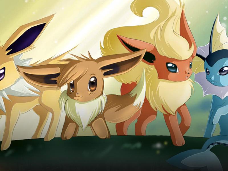Ewolucja Eevee w Pokemon GO. Jak zdobyć Umbreona, Espeona, Leafeona, Glaceona i Sylveona