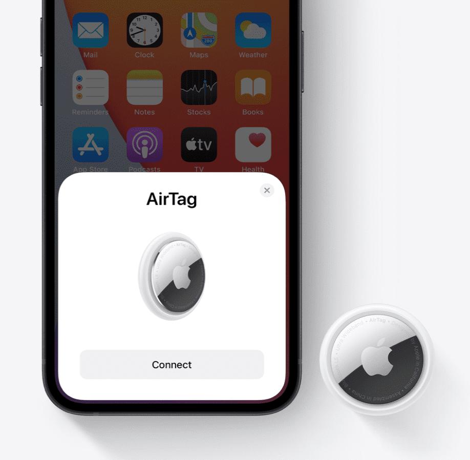 apple airtag konfiguracja