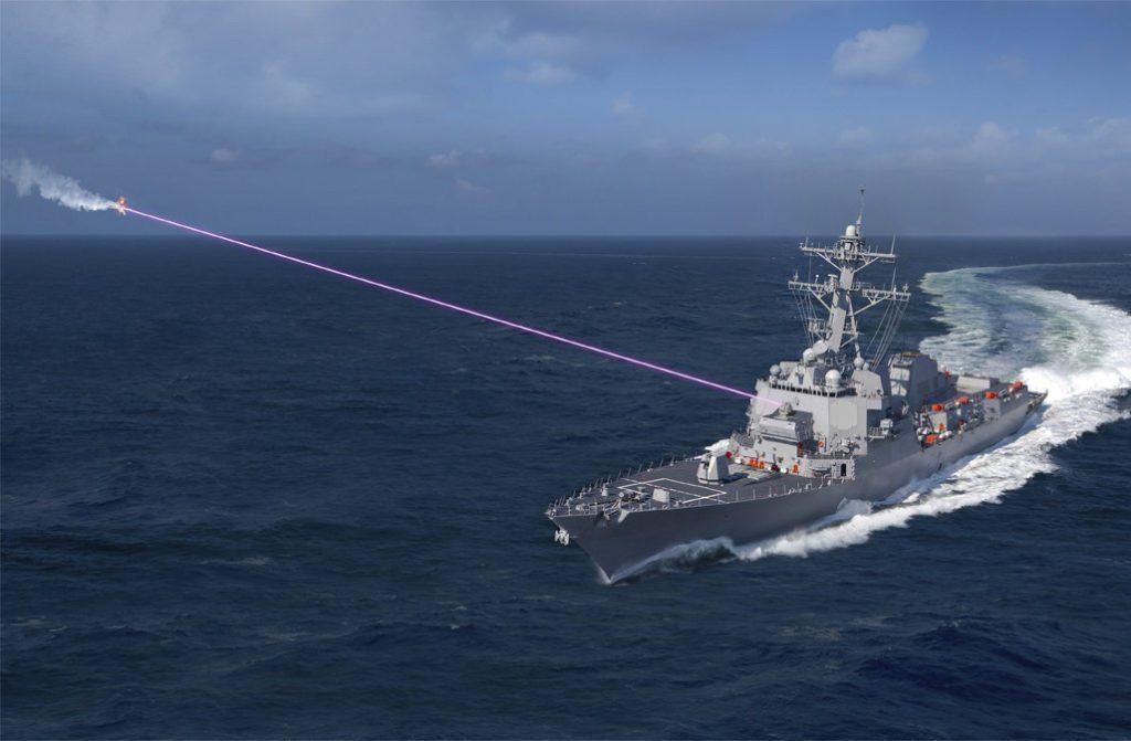 laser HELIOS okręt