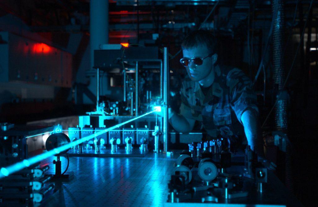 laser wojsko