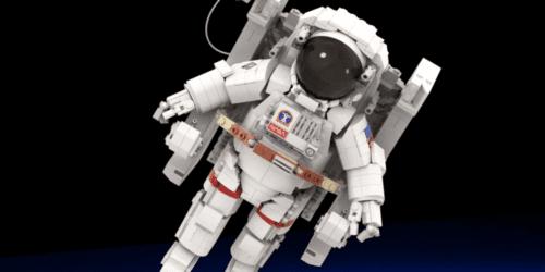 Astronauta z klocków LEGO. Nowy projekt LEGO Ideas budzi ogromne zainteresowanie