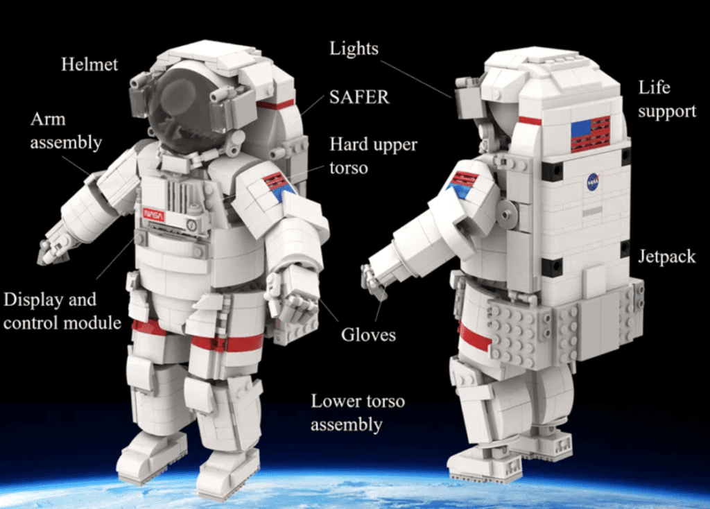LEGO Ideas Astronauta