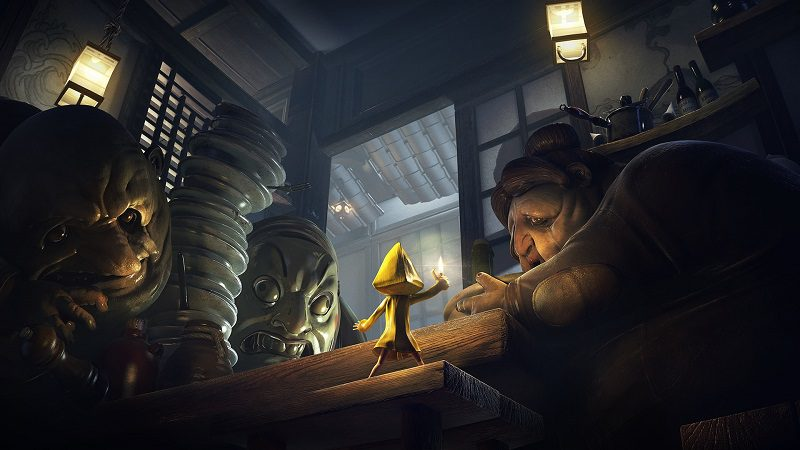 Little nightmares bohaterowie gry