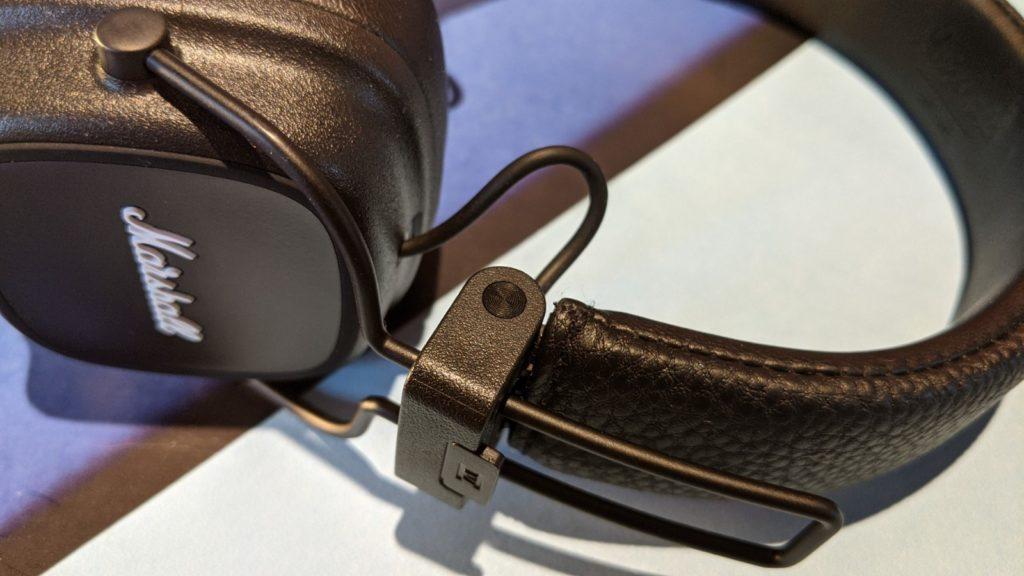 widełki słuchawek marshall major IV