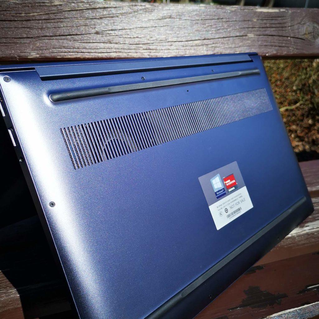 Huawei MateBook D16 układ chłodzenia