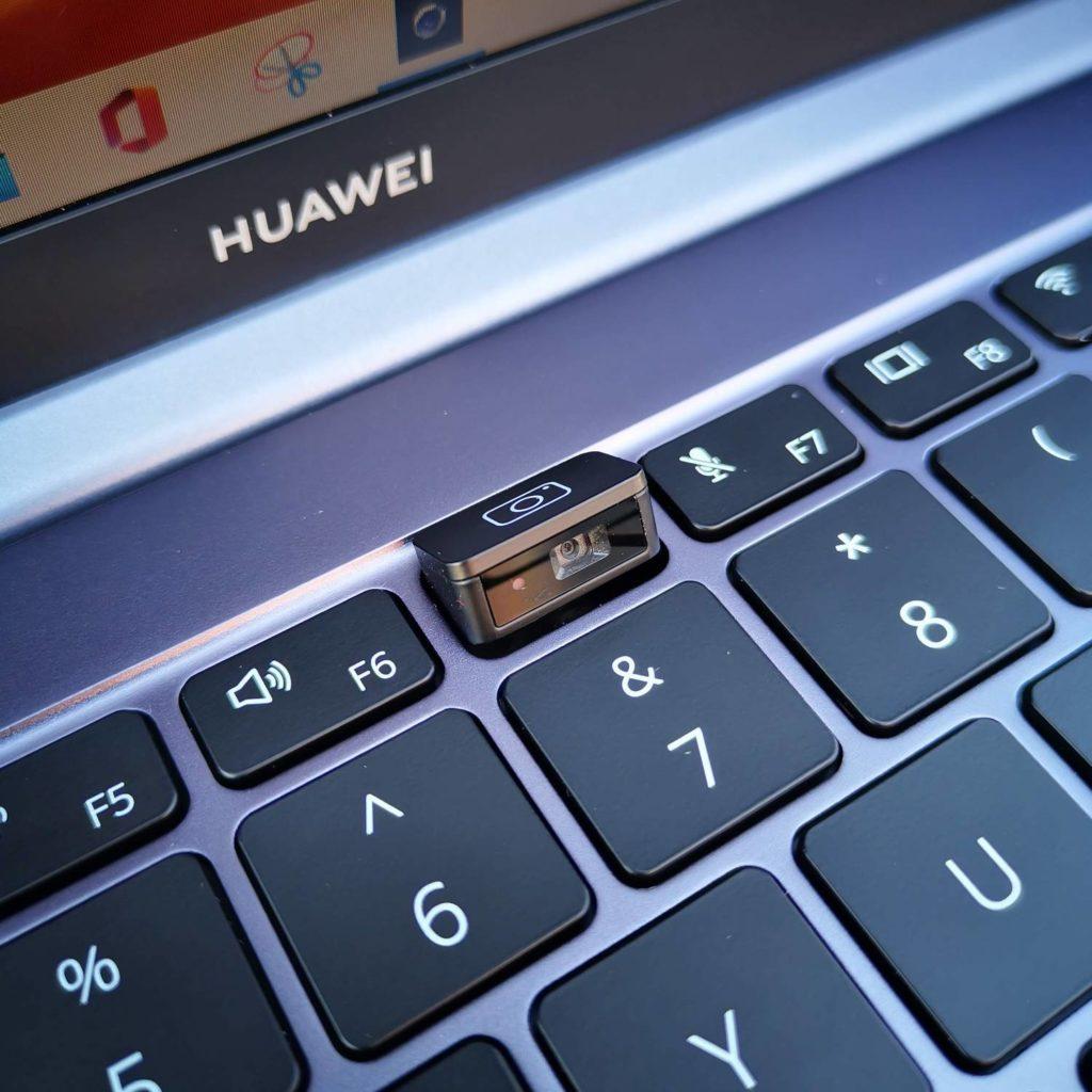 Huawei MateBook D16 kamera laptopa