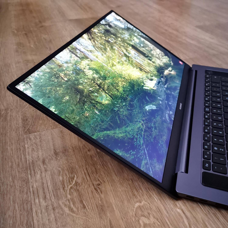Huawei MateBook D16 pokrycie sRGB 100%