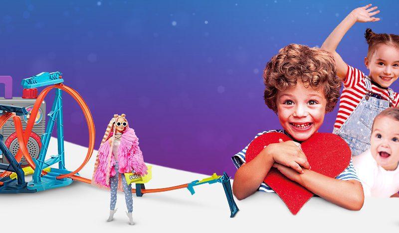 Mattel poleca się na prezent i podwaja radość dzieci