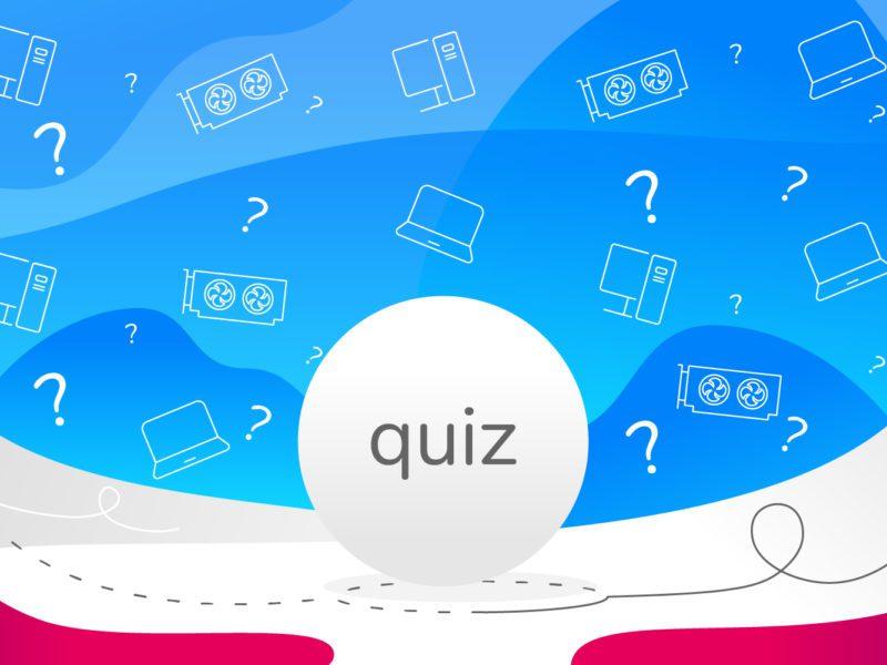 Quiz wiedzy o komputerach i komponentach. Nagroda czeka