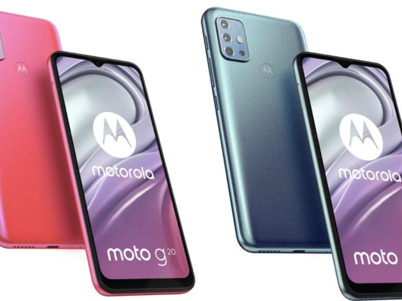 Motorola Moto G20. Wyciekła specyfikacja i wygląd nadchodzącego budżetowca