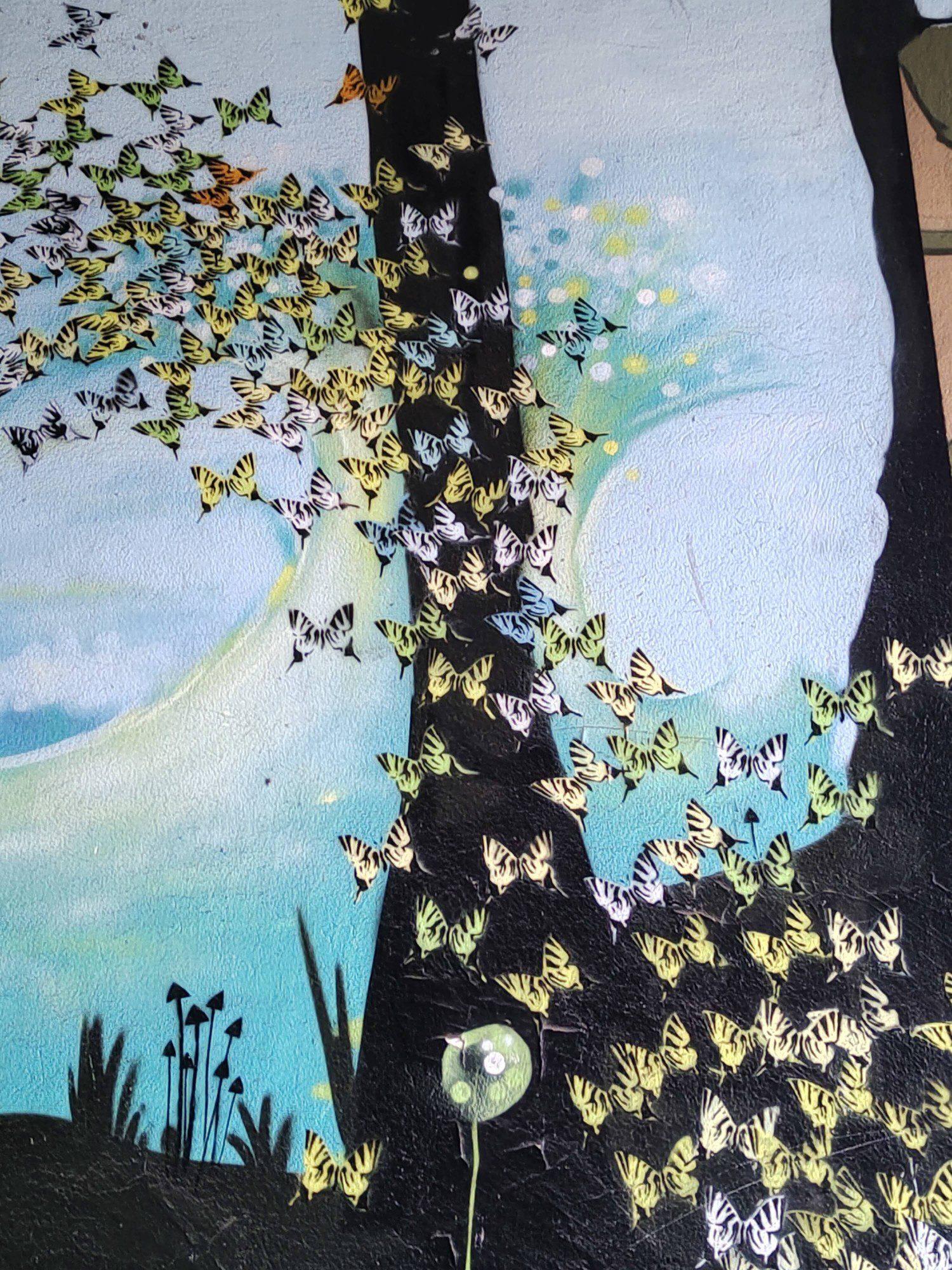 mural zdjęcie wykonane aparatem realme 8 pro