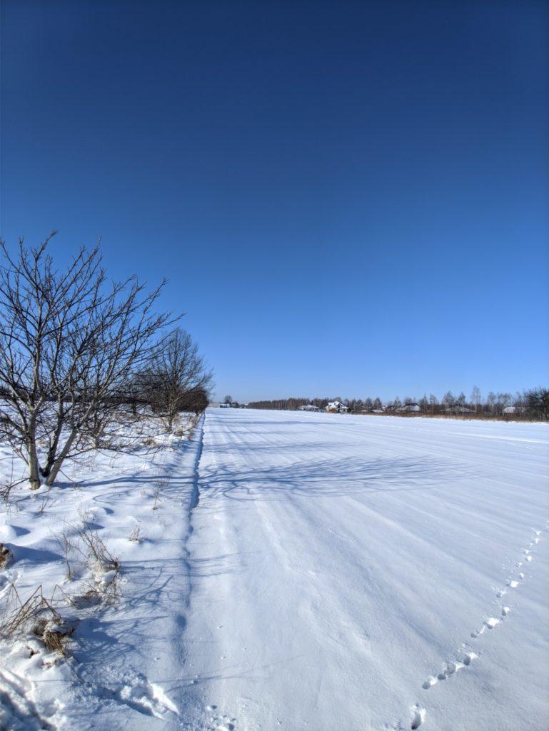 OnePlus 7T Pro śnieg główny