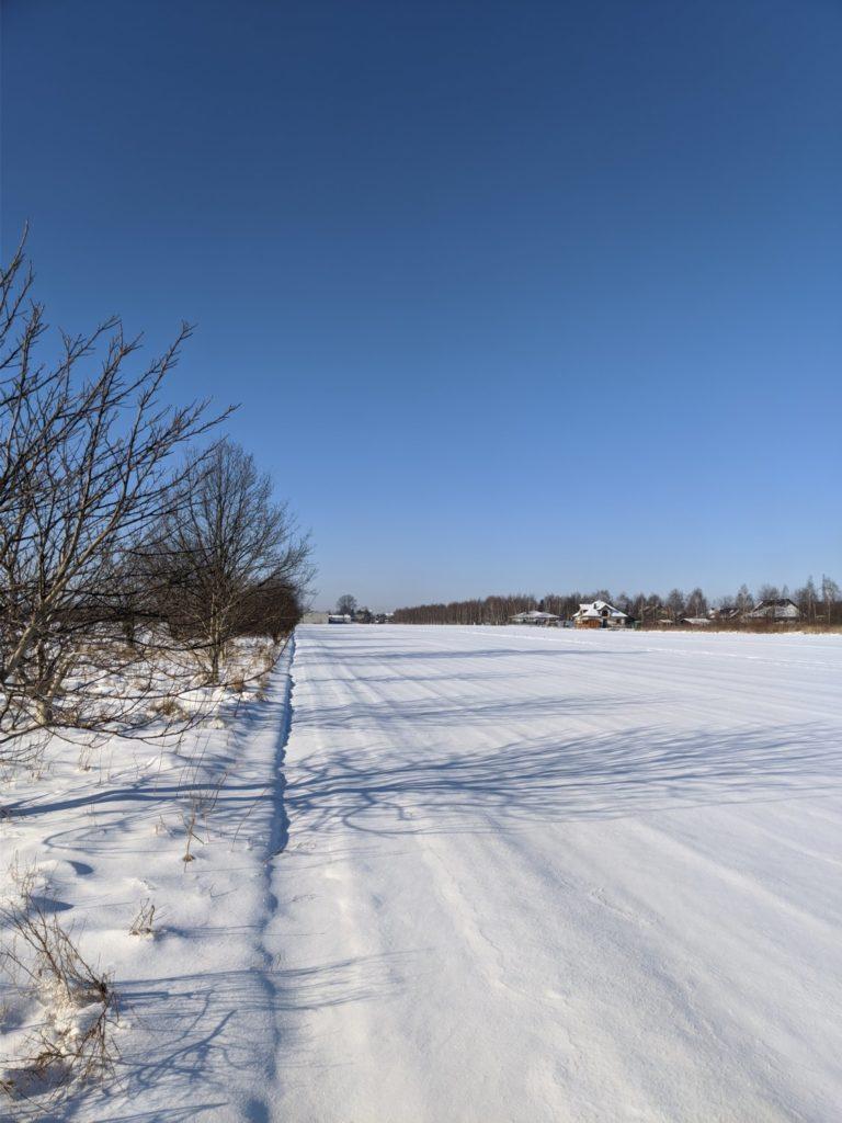 OnePlus 7T Pro śnieg Google Camera